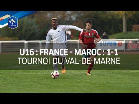 U16, Tournoi du Val-de-Marne : France-Maroc (1-1), le résumé I FFF 2017