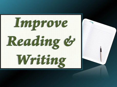 Improve Reading and Writing Skills Tutorial