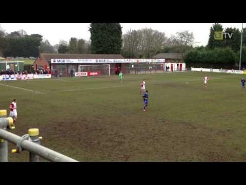 Lincoln United v Leek Town - First Half