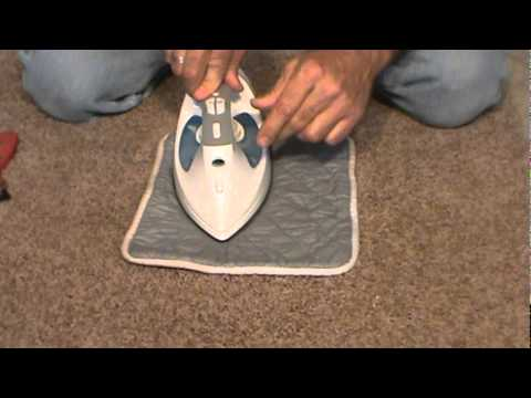 www. How to Repair Carpet. com, Fix, or Patch Carpet - YouTube