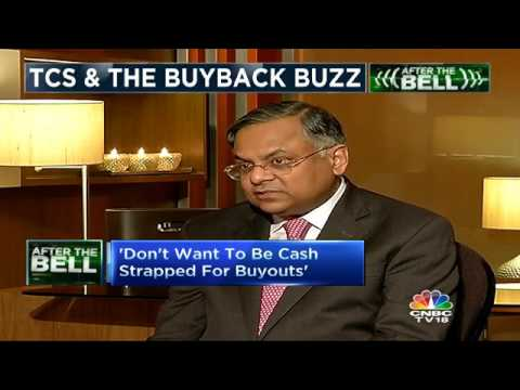 Don't Want To Be Cash Strapped For Buyouts: N Chandra
