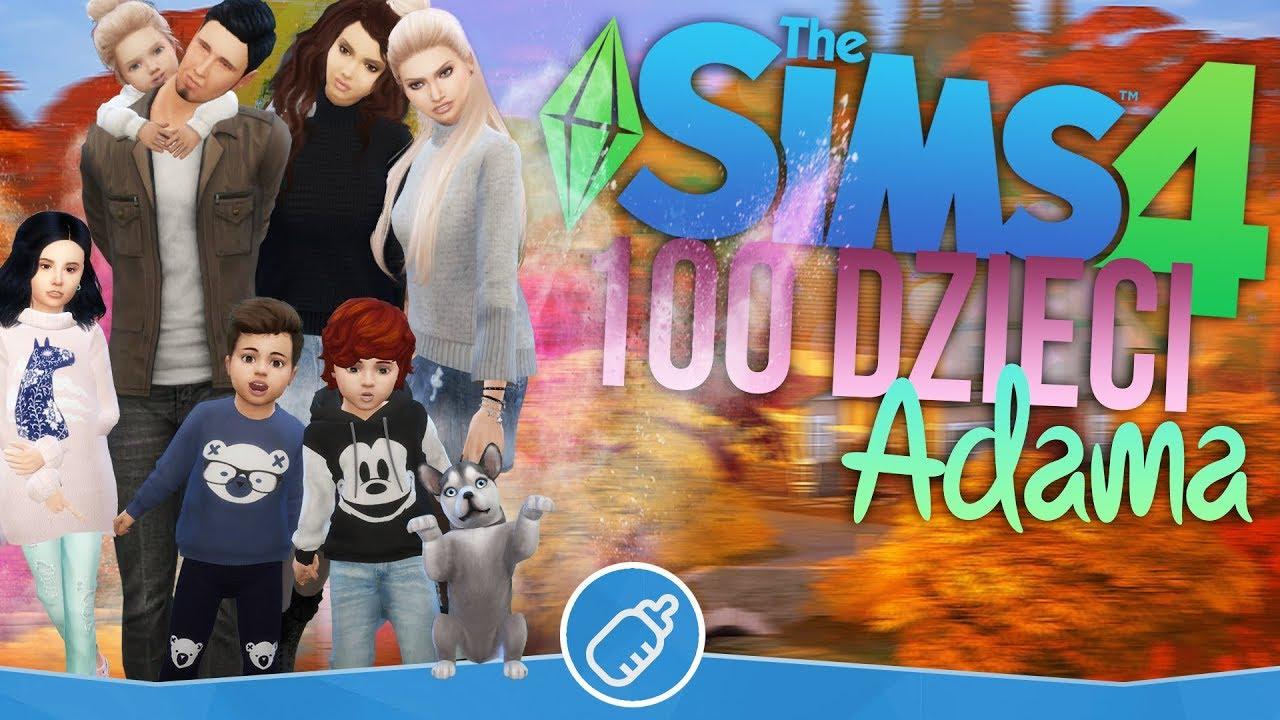 Download The Sims 4 Pl : Wyzwanie 100 dzieci Adama #115 - Nowy członek rodziny