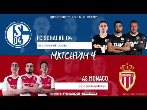 FC Schalke 04 vs. AS Monaco | Highlights Matchday 4 eFootball.Pro IQONIQ 2020-2021