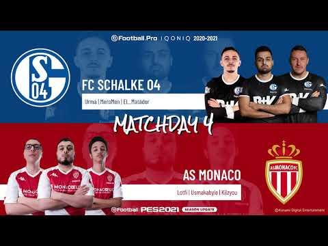 FC Schalke 04 vs. AS Monaco | Highlights Matchday 4 eFootball.Pro IQONIQ 2020-2021