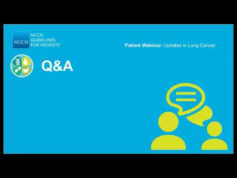 Know What Your Doctors Know: Updates in Lung Cancer Q&A - Life Expectancy  for Stage IV