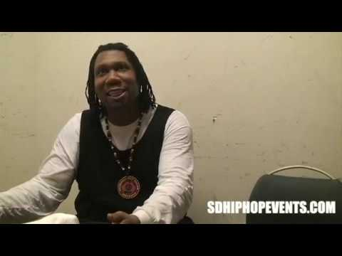KRS-ONE: On San Diego, Interview Preview