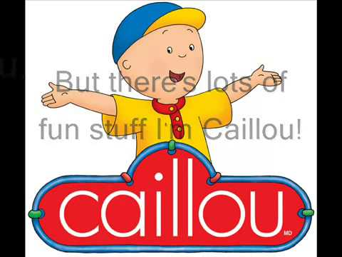 Caillou Theme Song Real Lyrics in English   YouTube