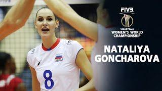 Nataliya Goncharova Spikes Volleyball l Russia Women Volleyball World Championship 2018