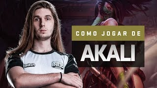 COMO JOGAR DE AKALI (REWORK 2018)