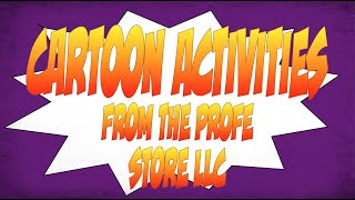 Spanish Cartoon Activity Preview