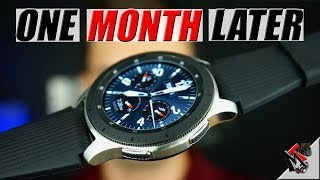 My Experience With The Samsung Galaxy Watch (46mm) - A Month Later