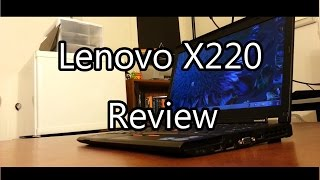 Lenovo Thinkpad X220 Review - Theje's Notebook Reviews