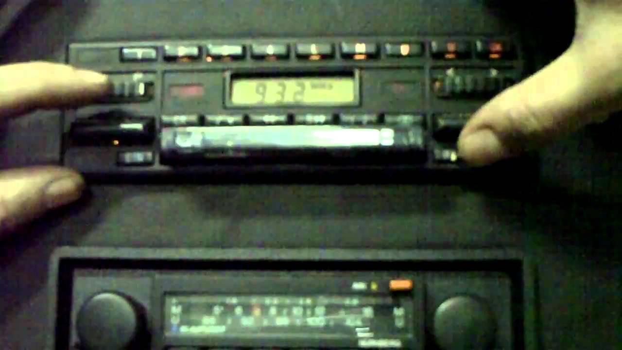 becker grand prix cassette stereo youtube. Black Bedroom Furniture Sets. Home Design Ideas