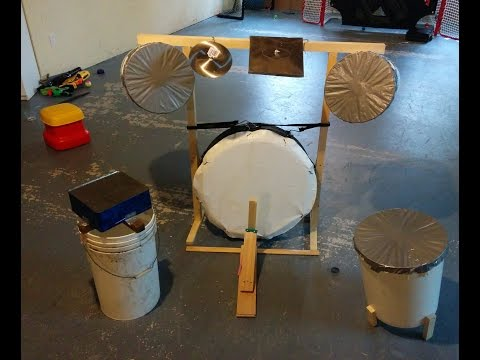 How to make a homemade drum set
