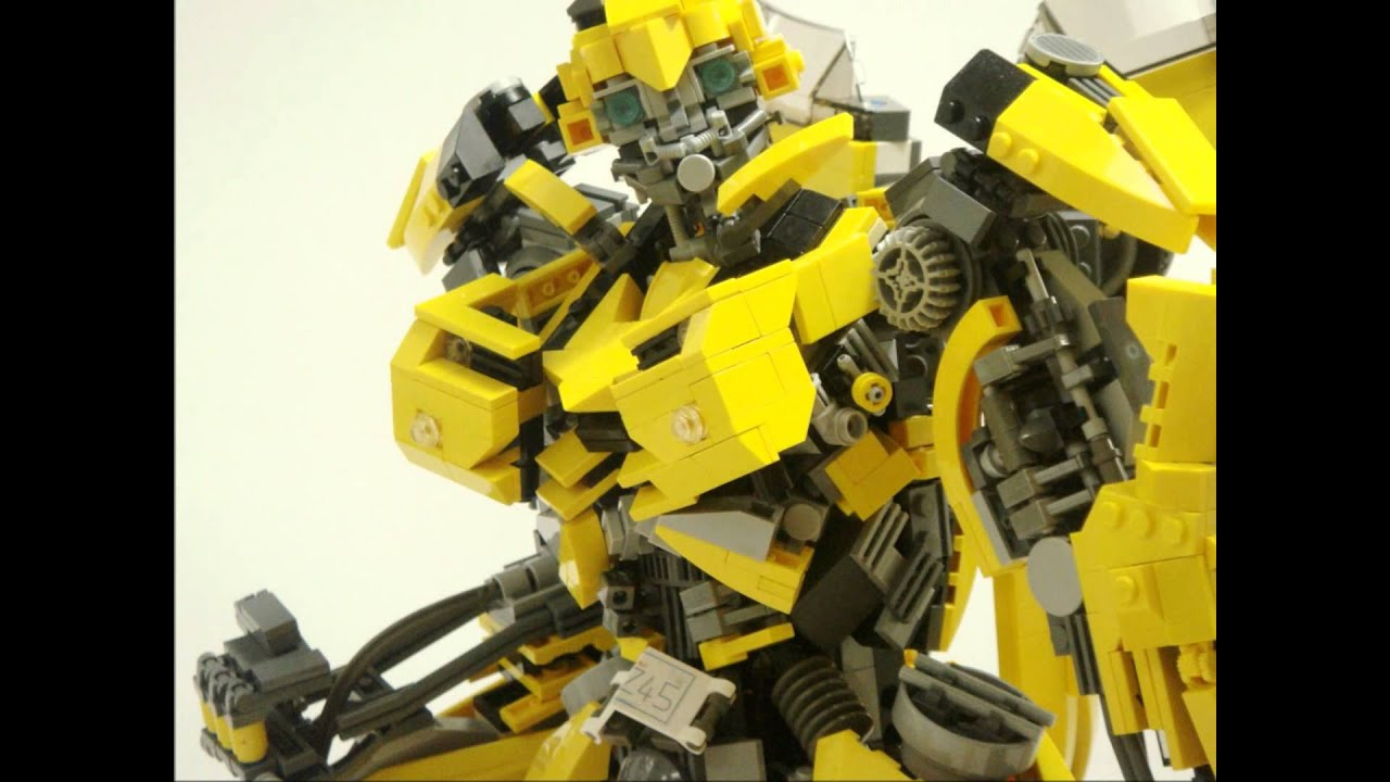Lego Transformers Bumblebee  U30ec U30b4 U3067 U4f5c U308b U30d0 U30f3 U30d6 U30eb U30d3 U30fc
