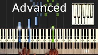 Ludovico Einaudi - Una Mattina - piano tutorial easy - Intouchables- synthesia