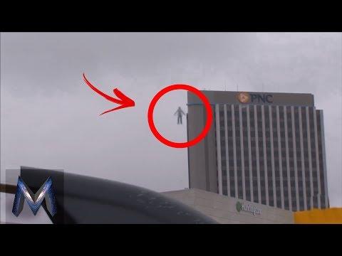 5 Manusia Terbang Yang Terekam Kamera