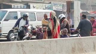 Moterbike Accident Safety with ladies