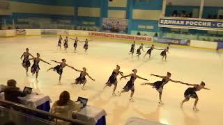 Чемпионат России по синхронному катанию  MC  ПП 3  Парадиз СПБ