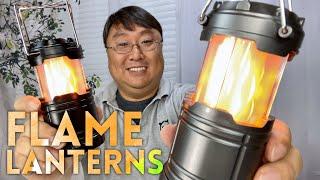 Flickering Flame LED Camṗing Lantern Review