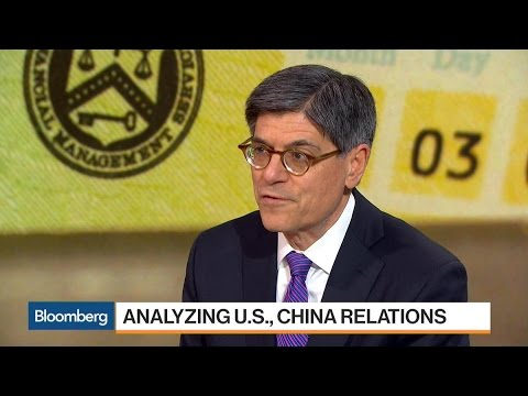 Jack Lew Says Stakes Are High for Trump-Xi Meeting