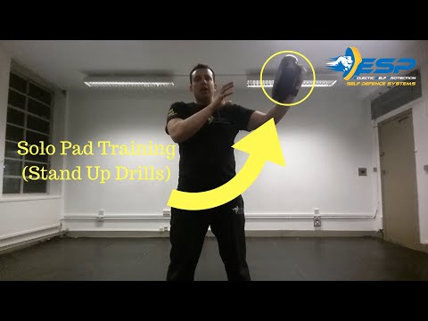 Solo Pad Training Drills For Martial Arts & Self Defence