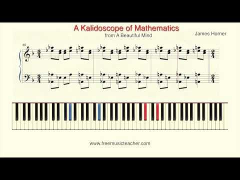 "How To Play Piano: ""A Beautiful Mind"" Kalidoscope"