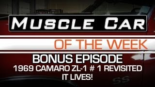 Muscle Car Of The Week Video #18: 1969 Camaro ZL1 #1 427 Running!