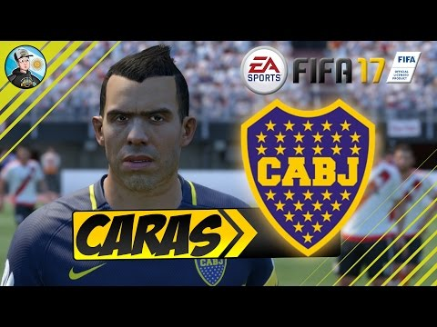 FIFA 17 Boca Juniors Faces / Caras