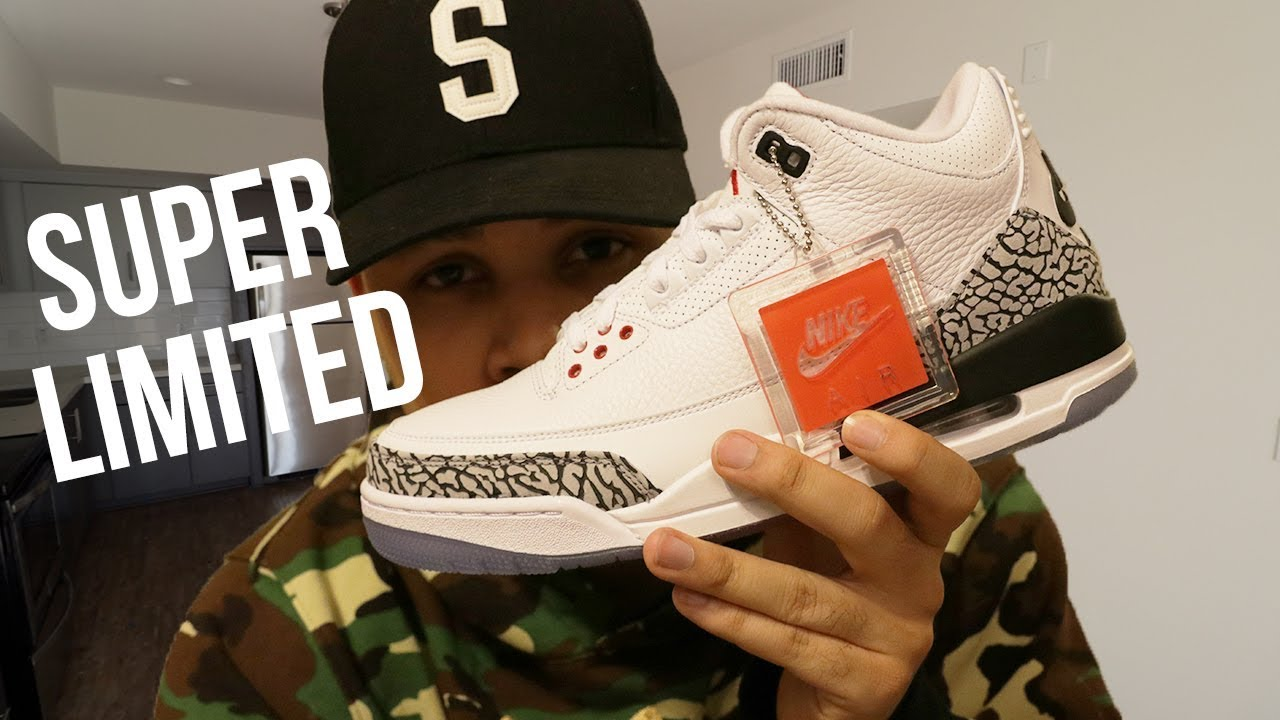 9e35fdb2312b Air Jordan 3 Free Throw Line First Thoughts!!  Super Limited  - YouTube