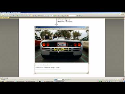 OpenCV License Plate Recognition Tutorial in Visual Basic
