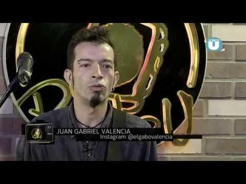 """Gabo Valencia -  Radio U - Canal U - programa """"El Toque"""" (part 1)"""