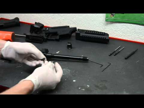 CZ Scorpion EVO 3 Detailed Full Disassembly