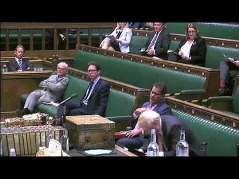 Johnson supera la primera votación de la ley que rompe parte del acuerdo de Brexit