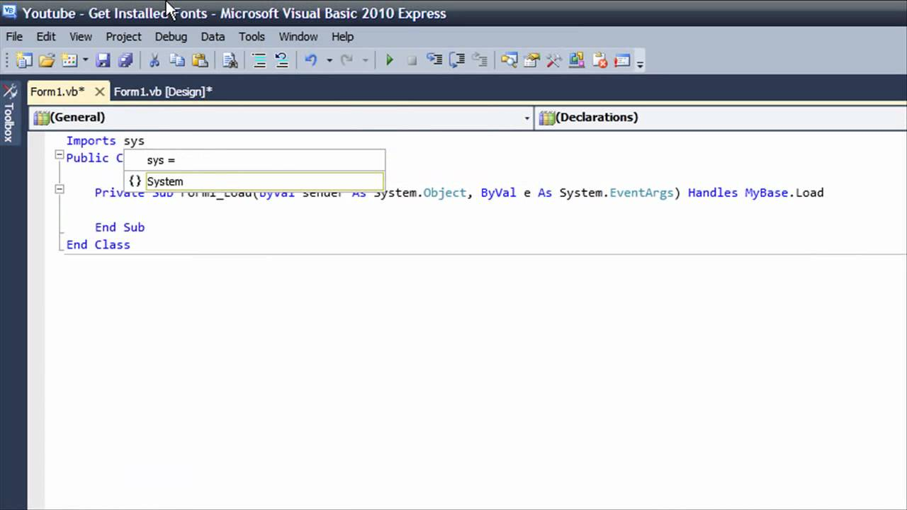 visual basic how to get time