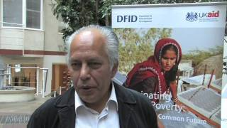Latin America climate change event at DFID in London
