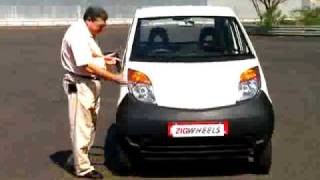 Launch: ONE Lakh Rupee Tata Nano reviewed by ZigWheels