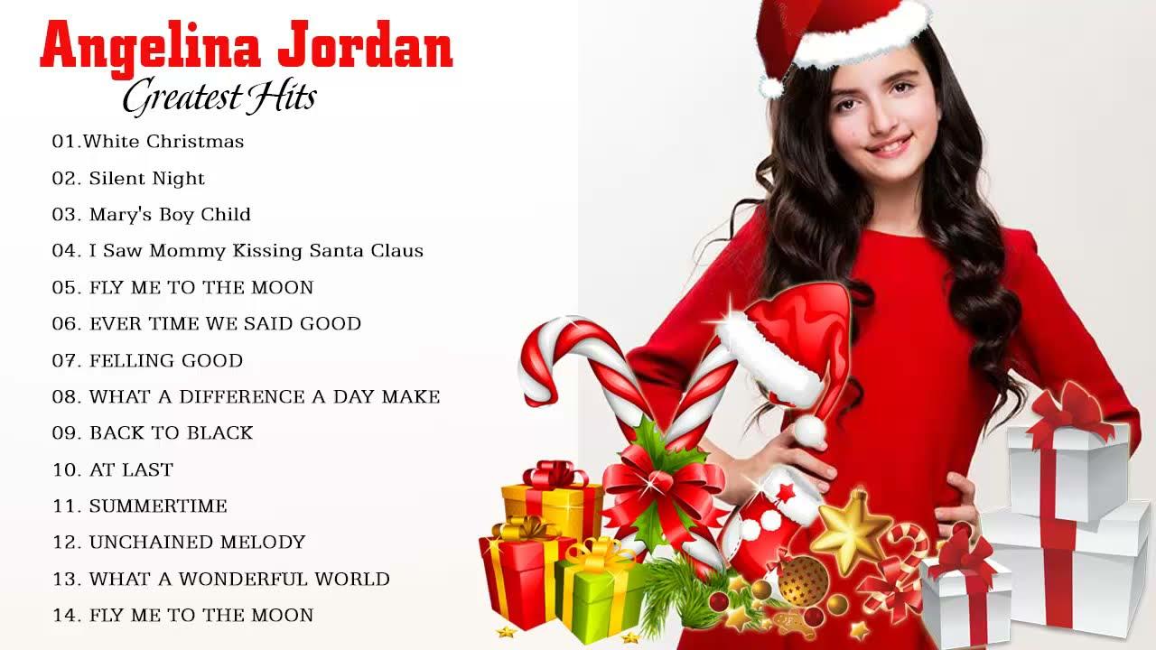 Jordans Christmas 2019.Angelina Jordan Christmas Songs 2019 Best Christmas Songs Of Angelina Jordan Merry Christmas 2019