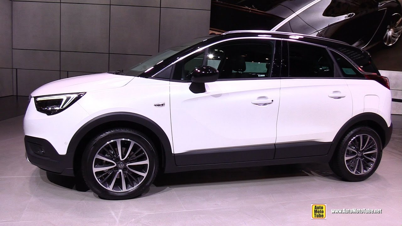 2017 opel crossland x exterior and interior walkaround. Black Bedroom Furniture Sets. Home Design Ideas