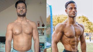 12 Weeks Body TRANFORMATION! | Diät Masterplan