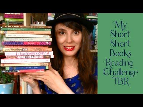 My Short Short Books Reading Challenge 2017 TBR