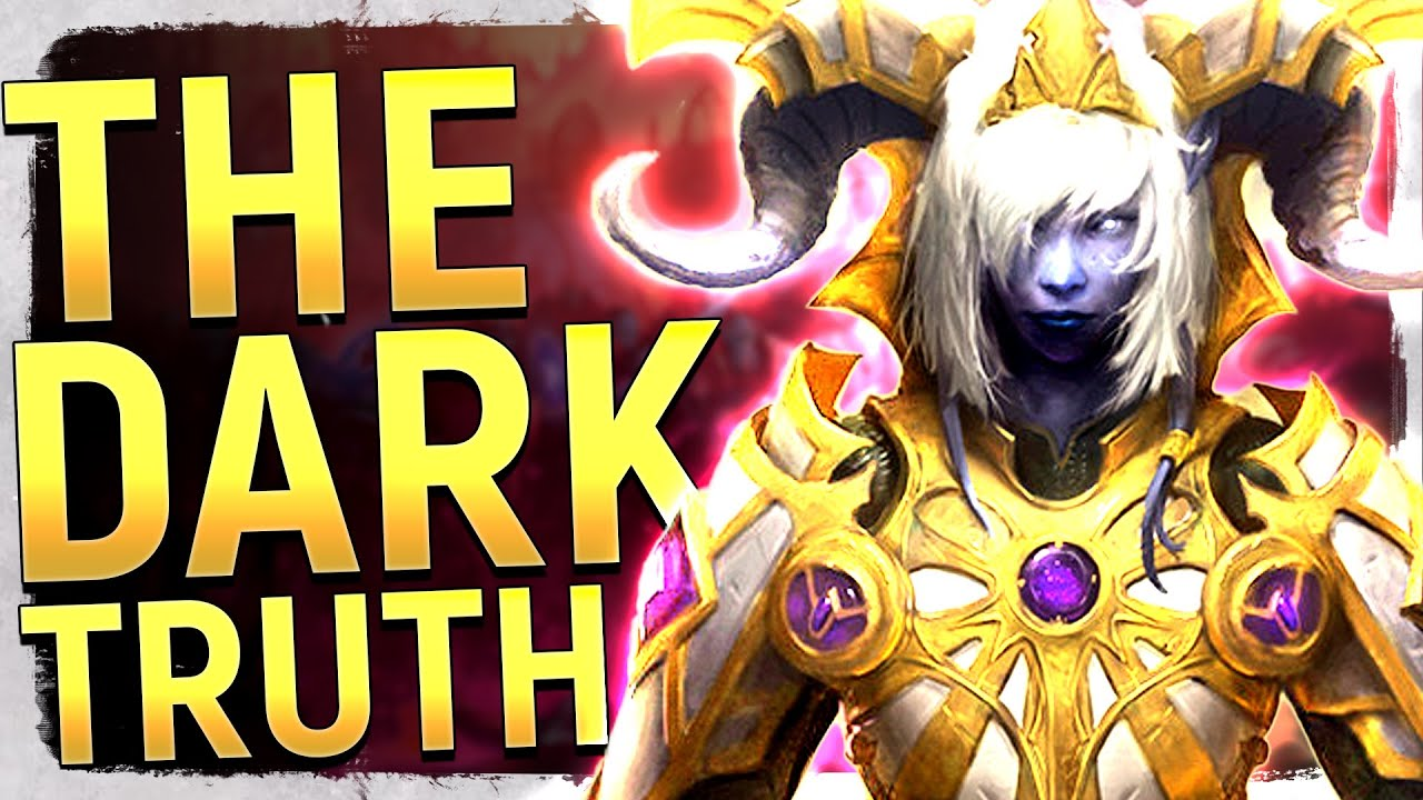 The Unseen Tragedy of Warcraft & The Draenei's DARK Destiny... WoW's Terrifying Future Revealed thumbnail