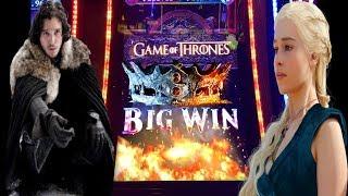 👑 MOTHER OF DRAGON BONUSES🔥 GAME OF THRONES SLOT MACHINE! NEIGHBOR HELPS BRUCE PICK!! LINE HIT!!