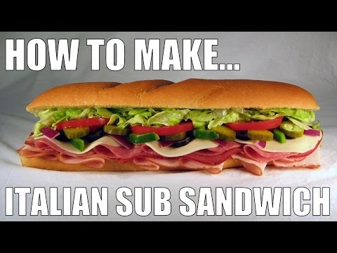 How To Make An Italian Sub Sandwich (BTS)