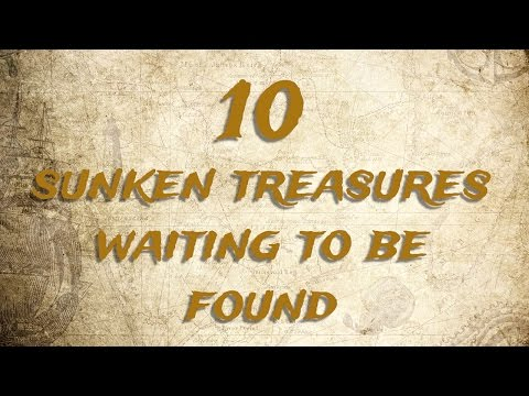 10 Sunken Treasures Waiting To Be Found