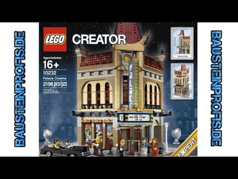 Unboxing Palace Cinema LEGO® Creator 10232 deutsch