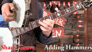 Shady Grove- 3-Finger Banjo Lesson in D Minor!