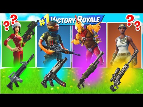 The *NEW* RANDOM SKIN CHALLENGE in Fortnite Chapter 2