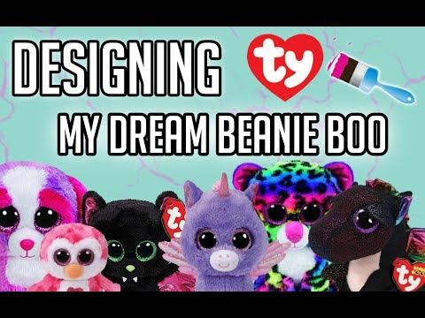 Beanie boos Speed Draw/ Speed Paint Designing My Dream Custom Beanie Boo!