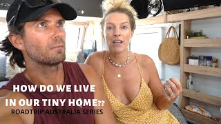 How Do We Live In Our Tiny Home?? | A Rundown Of Our Full Time Travelling Setup | Roadtrip Australia